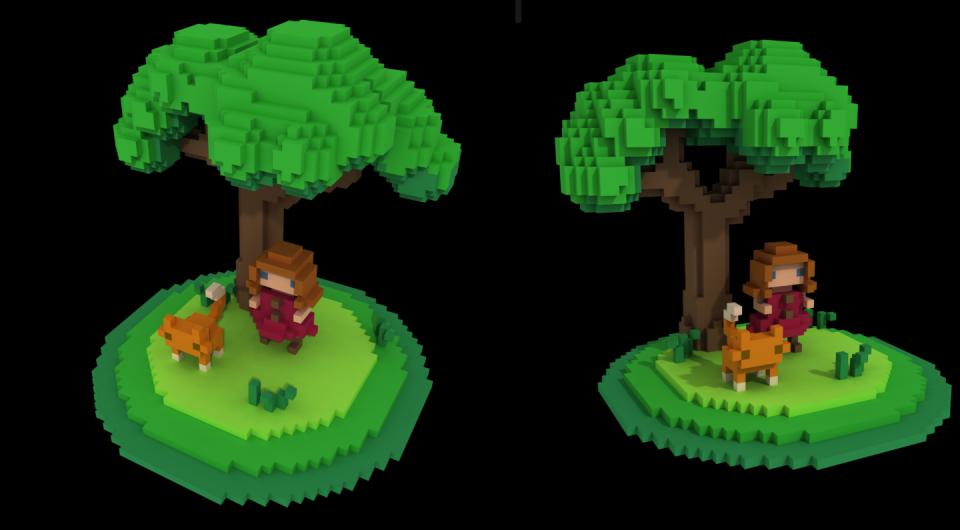 Voxel tree
