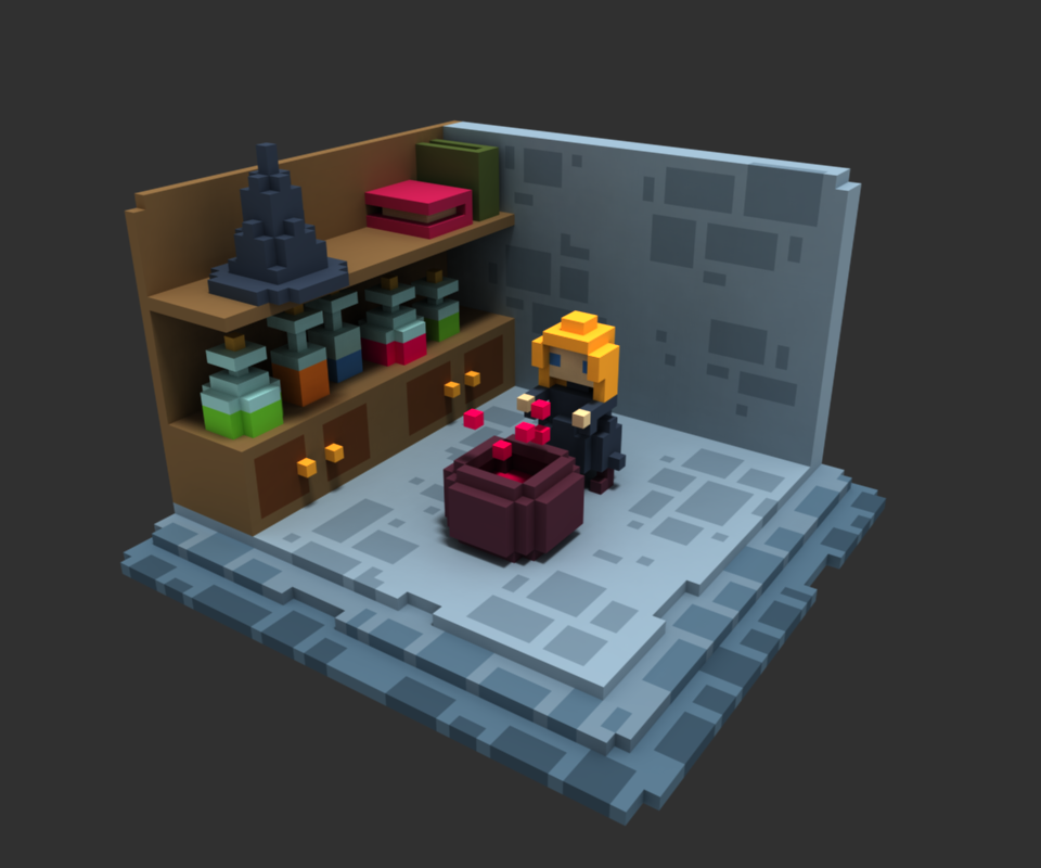 Voxels Amy Gerardy