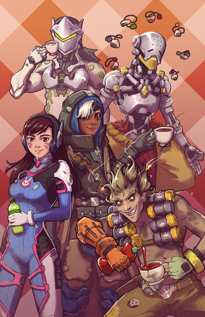 Overwatch Tea Time