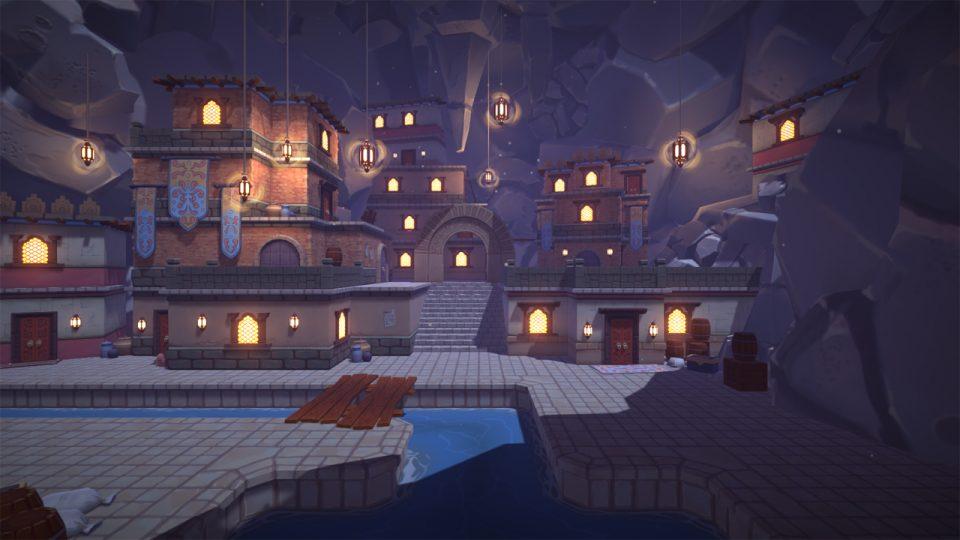 Modular Cave City
