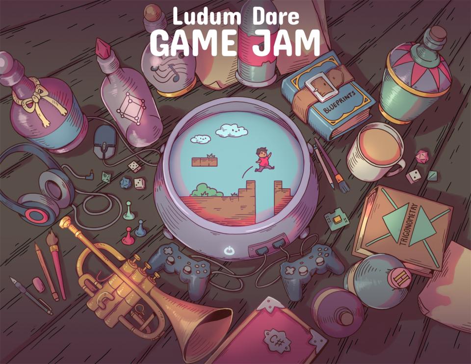 Ludum Dare Poster
